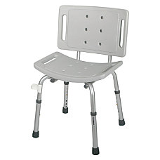Guardian EZ Care Shower Chair Gray