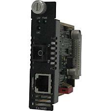 Perle C 1000 S1SC10U Gigabit Media