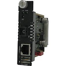 Perle C 1000 S1SC10D Media Converter