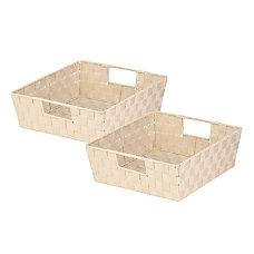 Honey Can Do Woven Shelf Trays