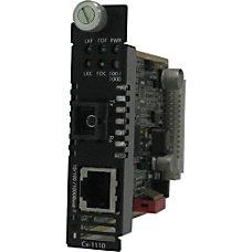 Perle C 1110 S1SC10U Media Converter