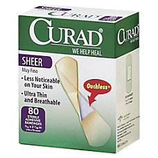 Medline Sheer Adhesive Bandages 34 x
