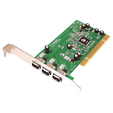 SIIG 3 port PCI 1394 FireWire