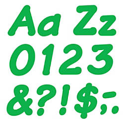 TREND Ready Letters Italic 4 Green