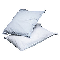 Medline Disposable Pillowcases White Box Of