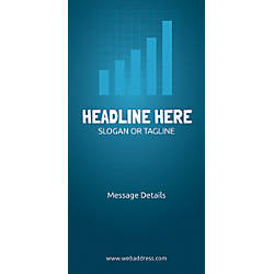 Custom Vertical Banner Bar Graph