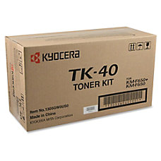 Kyocera Black Toner Cartridge Laser 9000