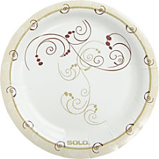 Solo Heavyweight Paper Plates 6 Diameter