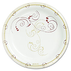 Solo Heavyweight Paper Plates 850 Diameter