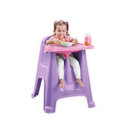 Rimax High Chair PurplePink By Office Depot OfficeMax