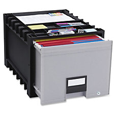 Storex BlackGray Heavy duty Archive Drawer