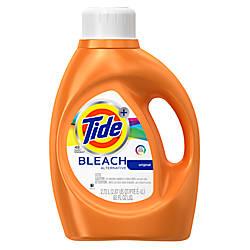 Tide Liquid With Bleach Alternative 92