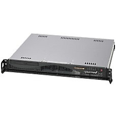 CybertronPC Caliber SVCIA1244 1U Rack mountable