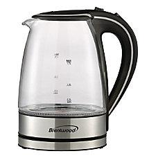 Brentwood KT 1900BK Borosilicate Glass Tea