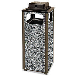 Rubbermaid Commercial Aspen Series Square Metal