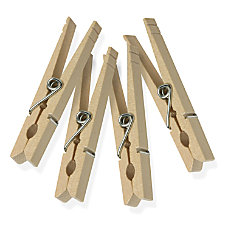 Honey Can Do Classic Wooden Clothespins