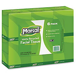 Marcal 2 ply Cube Box Facial