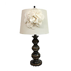 Elegant Designs Stacked Ball Table Lamp