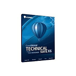 corel coreldraw technical suite v x6 complete product 1 user standard by office depot officemax. Black Bedroom Furniture Sets. Home Design Ideas