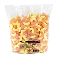 Albanese Confectionery Gummy Rings Strawberry Banana