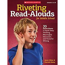 Scholastic Teacher Resources Riveting Read Alouds