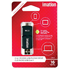 Imation 2 in 1 Swivel Micro