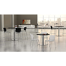 Mayline Bistro Table Dining Height Round