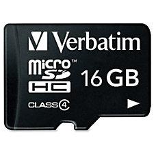 Verbatim Class 4 Micro Secure Digital