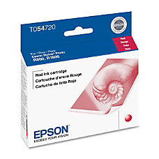 Epson T0547 T054720 UltraChrome Red Ink
