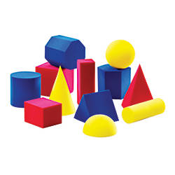 Learning Resources Everyday Shapes Activity Set