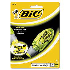 BIC Brite Liner Dispenser Highlighter Tape
