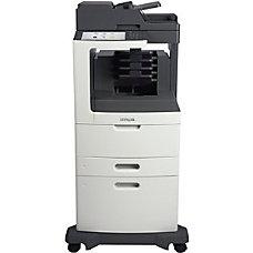 Lexmark MX810DXME Laser Multifunction Printer Monochrome
