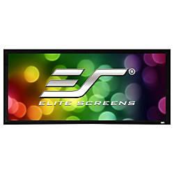 Elite Screens SableFrame ER135WH2 Fixed Frame