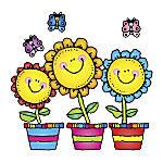 Carson Dellosa Bulletin Board Set Blooming