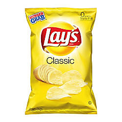 LAYS Classic Potato Chips 25 Oz