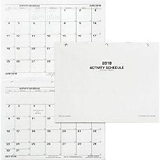 UNICOR Flip Style Activity Schedule Daily