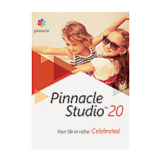 Corel Pinnacle Studio 20 Traditional Disc