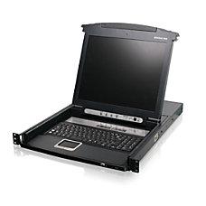 IOGEAR 8 Port 17 LCD Combo