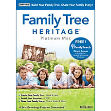 Family Tree Heritage Platinum 9 Mac