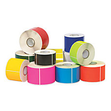Write On Rectangle Inventory Label Roll