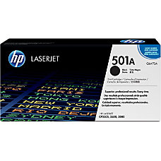 HP 501A Black Original Toner Cartridge