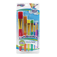 Artskills Craft Brushes Assorted Colors Set