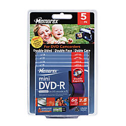 Memorex Mini DVD R Double Sided