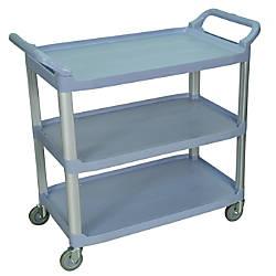 Luxor 3 Shelf Serving Cart 37