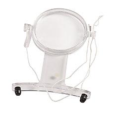 HealthSmart Hands Free Magnifier White