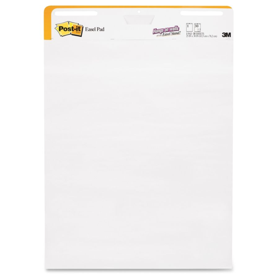 Post It Self Stick Wall Pad Short Backcard Format  In X  In