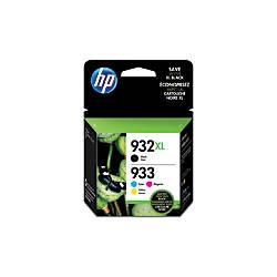 HP 933 BlackCyanMagentaYellow Ink Cartridges N9H62FN140