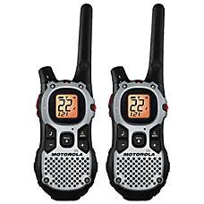 Motorola Talkabout Two Way Radios BlackSilver