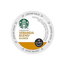 Starbucks Veranda Coffee K Cups 10