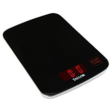 Taylor 3852 Digital Glass Kitchen Scale